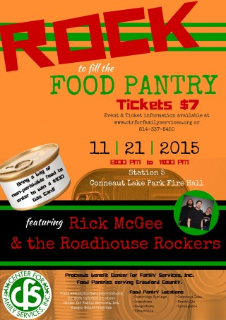 Rock to fill the Food Pantry (2)